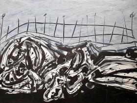 Desnudo paisaje - 1980